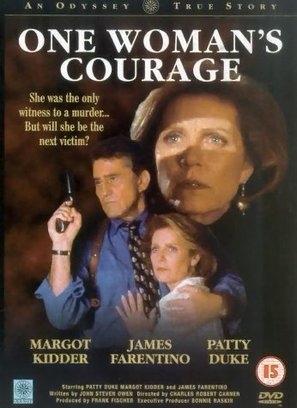 One Woman's Courage - British Movie Cover (thumbnail)