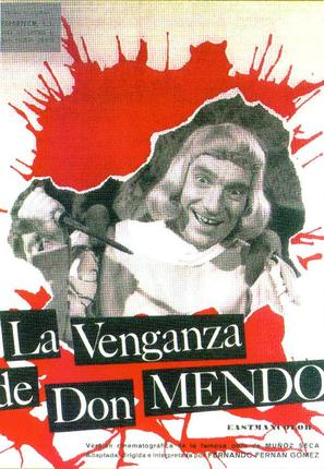 Venganza de Don Mendo, La - Spanish Movie Poster (thumbnail)