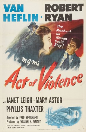 Act of Violence - Movie Poster (thumbnail)