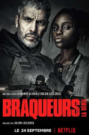 """""""Braqueurs"""" - French Movie Poster (thumbnail)"""