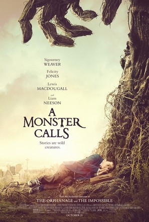 A Monster Calls - Movie Poster (thumbnail)