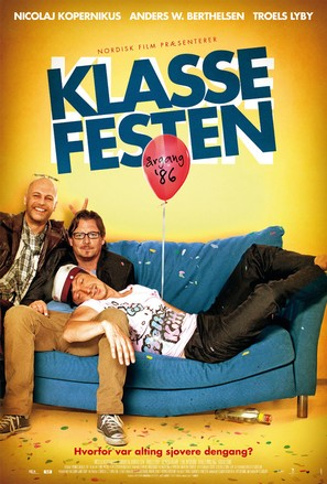 Klassefesten - Danish Movie Poster (thumbnail)