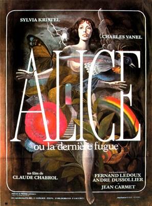 Alice ou la dernière fugue - French Movie Poster (thumbnail)