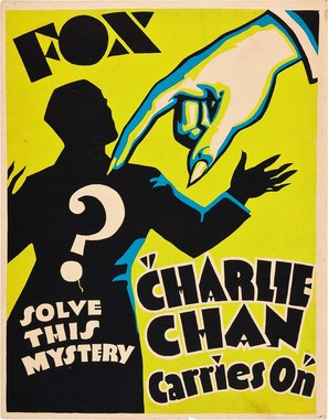 Charlie Chan Carries On - Movie Poster (thumbnail)