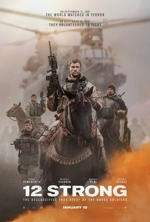 12 Strong - Movie Poster (thumbnail)