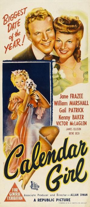 Calendar Girl - Australian Movie Poster (thumbnail)