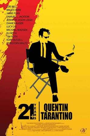 21 Years: Quentin Tarantino - Movie Poster (thumbnail)
