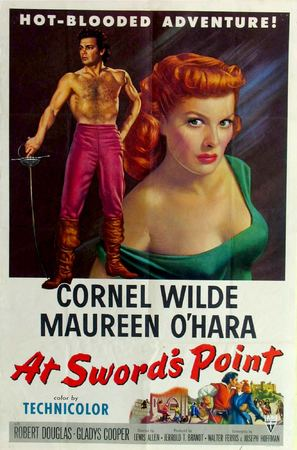 At Sword's Point - Theatrical movie poster (thumbnail)