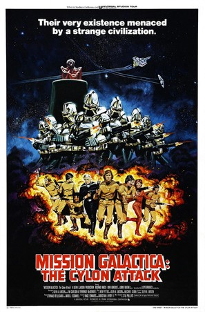 Mission Galactica: The Cylon Attack - Movie Poster (thumbnail)