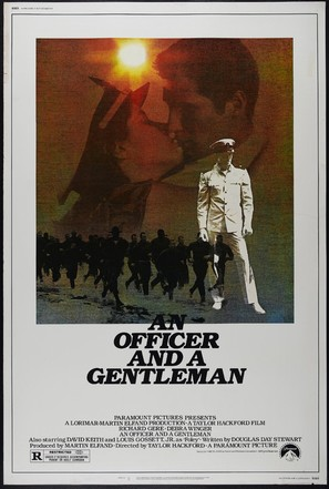 An Officer and a Gentleman - Movie Poster (thumbnail)
