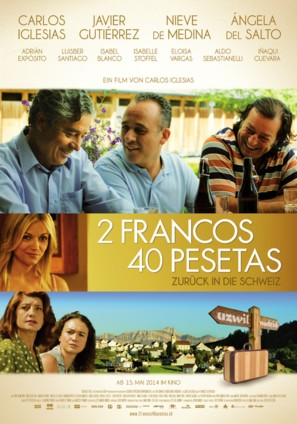 2 francos, 40 pesetas - Swiss Movie Poster (thumbnail)