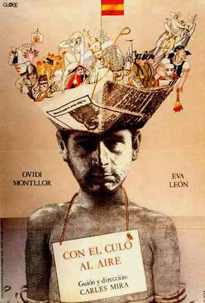 Con el culo al aire - Spanish Movie Poster (thumbnail)