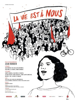 La vie est à nous - French Movie Poster (thumbnail)
