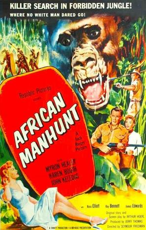African Manhunt - Movie Poster (thumbnail)