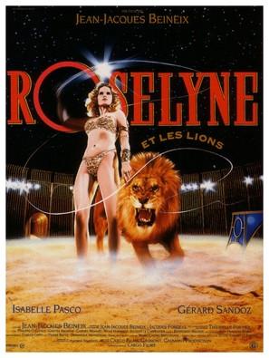 Roselyne et les lions - French Movie Poster (thumbnail)
