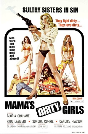Mama's Dirty Girls - Theatrical poster (thumbnail)