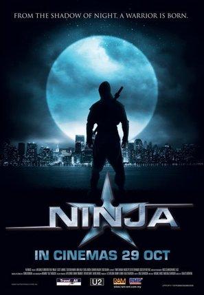 Ninja - Singaporean Movie Poster (thumbnail)