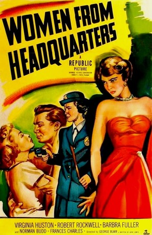 Women from Headquarters - Movie Poster (thumbnail)