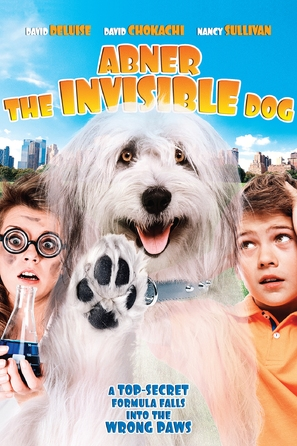 Abner, the Invisible Dog - DVD cover (thumbnail)