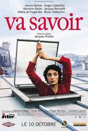 Va savoir - French Movie Poster (thumbnail)