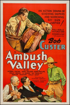 Ambush Valley - Movie Poster (thumbnail)
