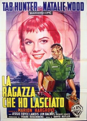 The Girl He Left Behind - Italian Movie Poster (thumbnail)