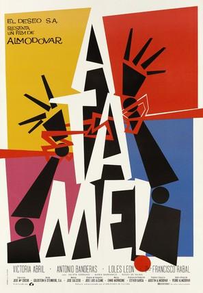 ¡Átame! - Spanish Movie Poster (thumbnail)