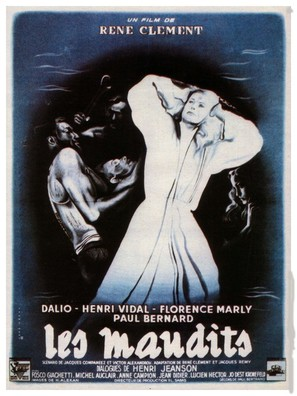 Les maudits - French Movie Poster (thumbnail)