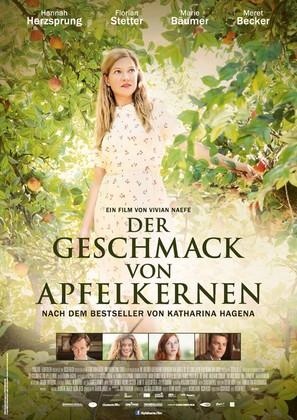 Der Geschmack von Apfelkernen - German Movie Poster (thumbnail)