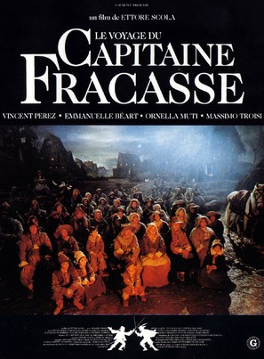 The Voyage of Captain Fracassa - French Movie Poster (thumbnail)