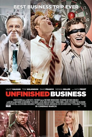 Unfinished Business - Movie Poster (thumbnail)