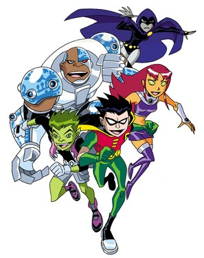 """Teen Titans"" - poster (thumbnail)"