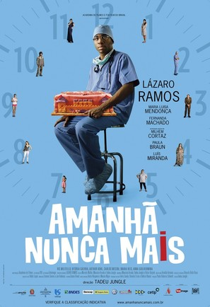 Amanhã Nunca Mais - Brazilian Movie Poster (thumbnail)