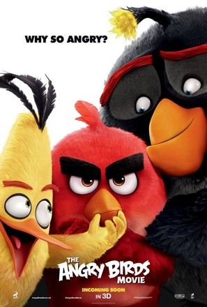 The Angry Birds Movie - Movie Poster (thumbnail)