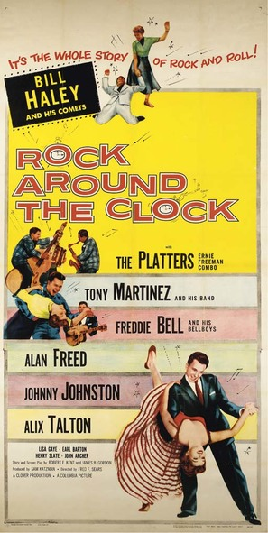 Rock Around the Clock - Movie Poster (thumbnail)