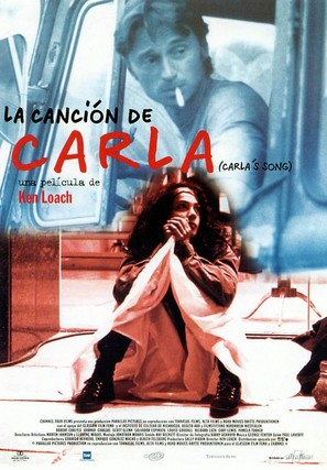 Carla's Song - Spanish Movie Poster (thumbnail)