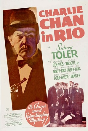 Charlie Chan in Rio - Movie Poster (thumbnail)