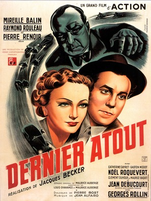 Dernier atout - French Movie Poster (thumbnail)