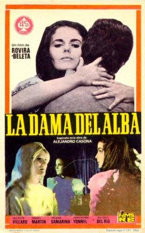 La dama del alba - Spanish Movie Poster (thumbnail)