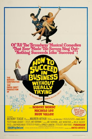 How to Succeed in Business Without Really Trying - Movie Poster (thumbnail)