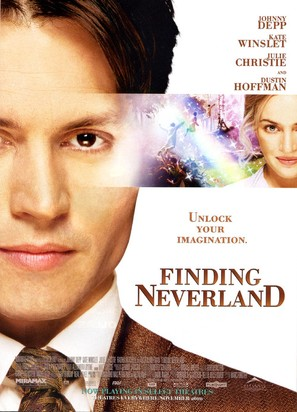 Finding Neverland - Movie Poster (thumbnail)