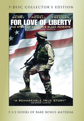For Love of Liberty: The Story of America's Black Patriots - DVD movie cover (thumbnail)