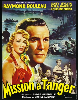 Mission à Tanger - French Movie Poster (thumbnail)