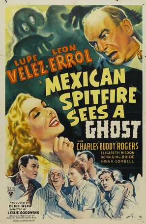 Mexican Spitfire Sees a Ghost - Movie Poster (thumbnail)