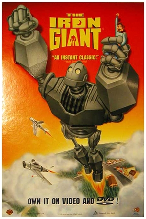 The Iron Giant - Video release movie poster (thumbnail)
