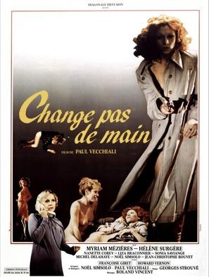 Change pas de main - French Movie Poster (thumbnail)