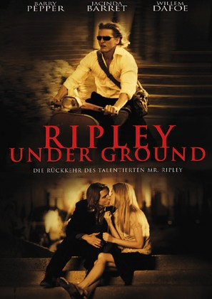 Ripley Under Ground - German Movie Cover (thumbnail)