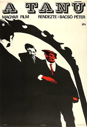A Tanú - Hungarian Movie Poster (thumbnail)