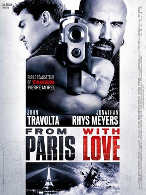 From Paris with Love - French Movie Poster (thumbnail)