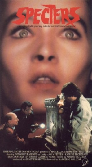 Spettri - VHS movie cover (thumbnail)